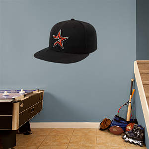 Houston Astros Cap Fathead Wall Decal